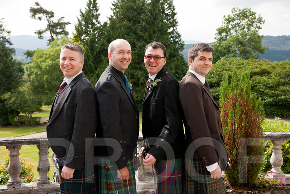 Groom, Best Man and Users messing about