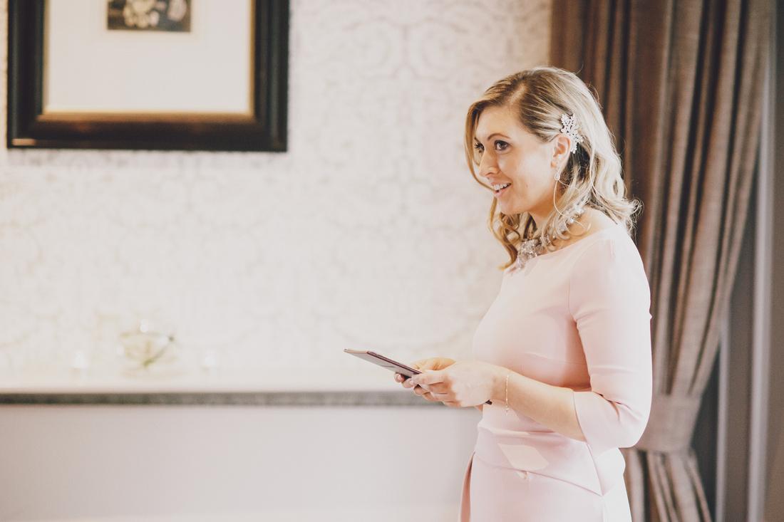 Guest speaker wedding