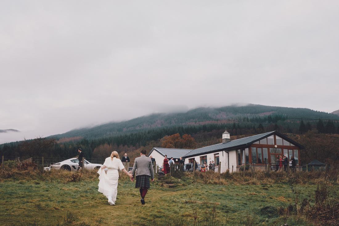 Venue picture Kinlochard Village Hall Wedding Scotland