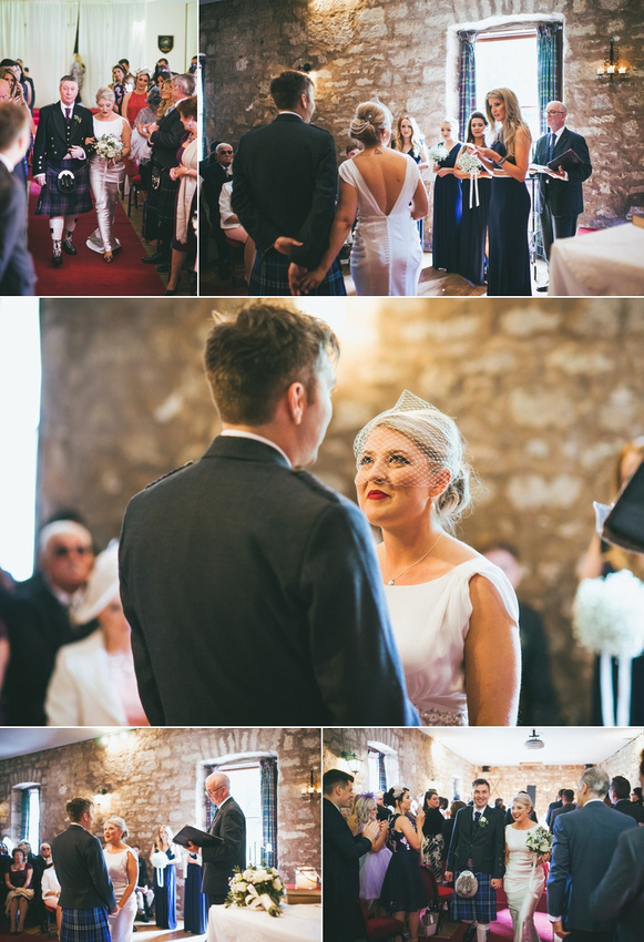 Culcreuch Castle Wedding Ceremony