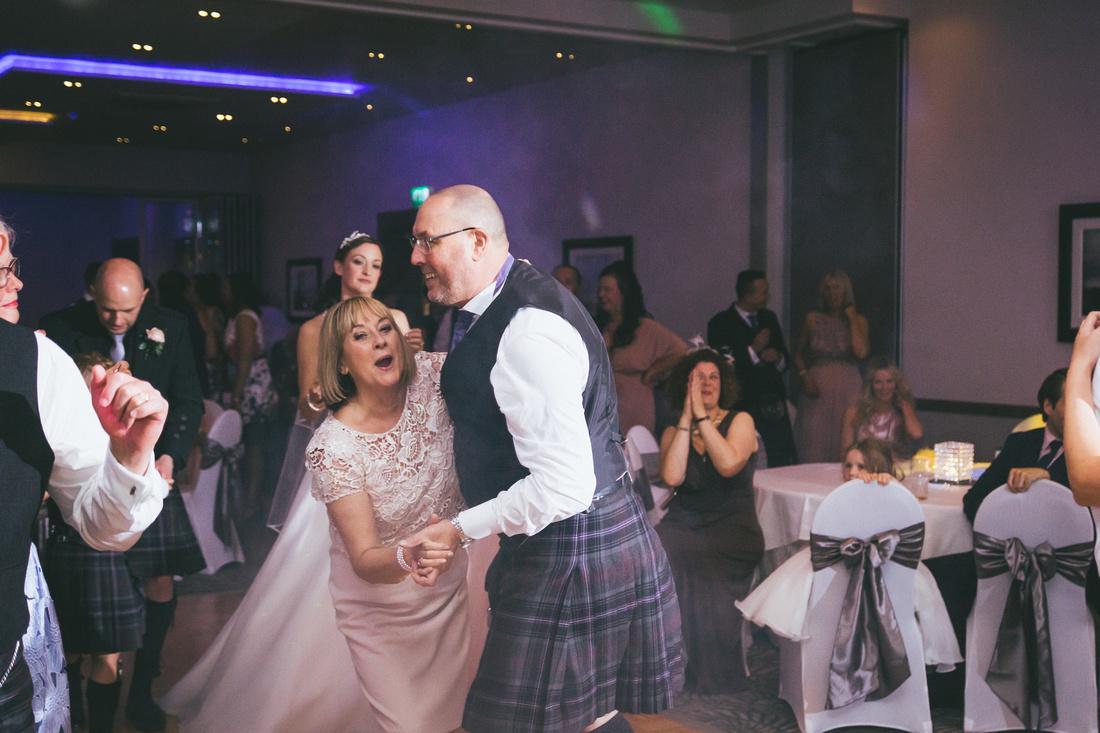 Dancing Evening reception Waterside hotel Ayrshire