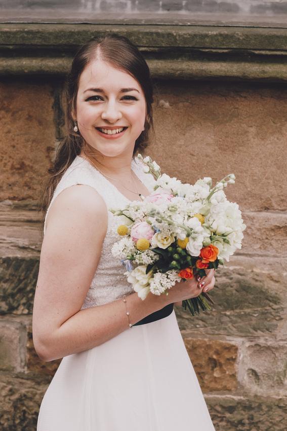 Cottiers Glasgow Bride portait
