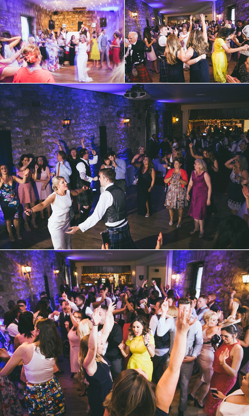 Culcreuch Castle Wedding Party