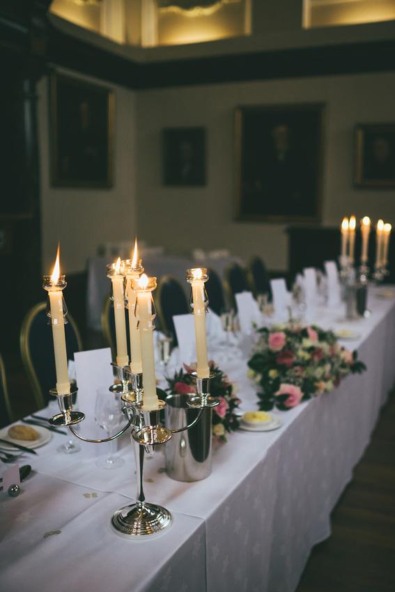 fifteen ninety nine Glasgow wedding tables