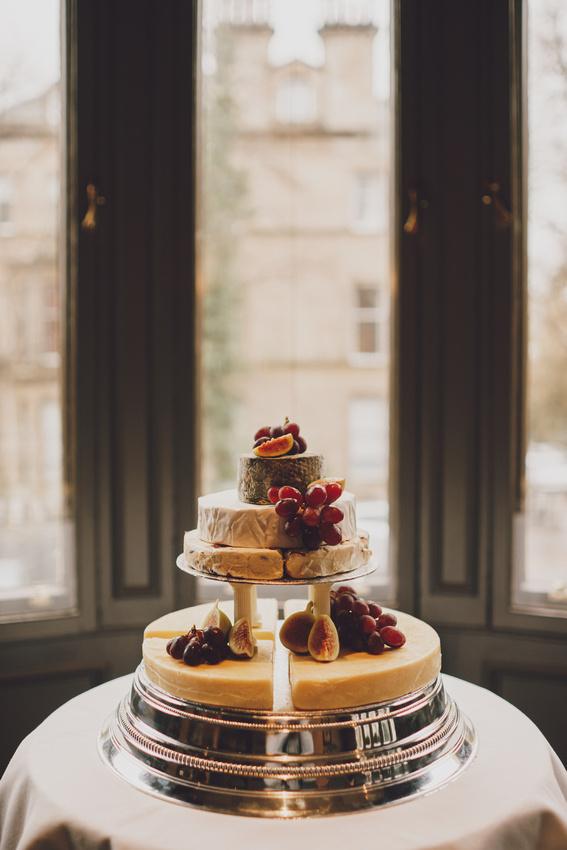 Hotel du Vin Cheese wedding cake Glasgow