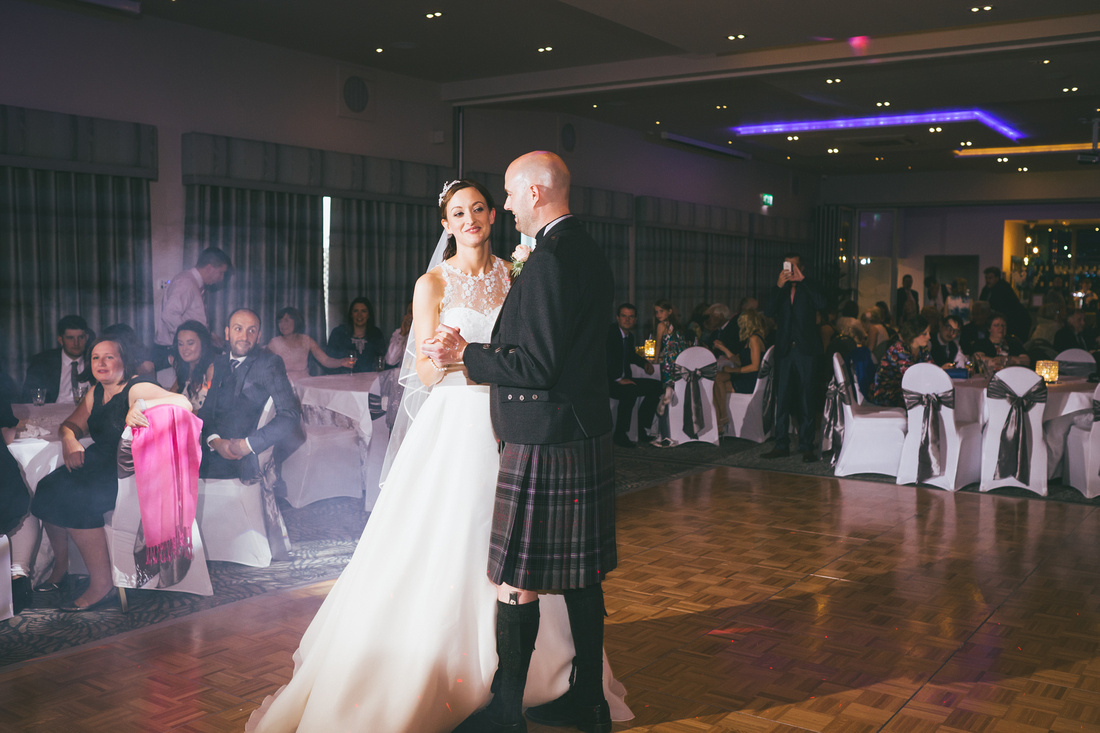 First dance Waterside hotel Ayrshire