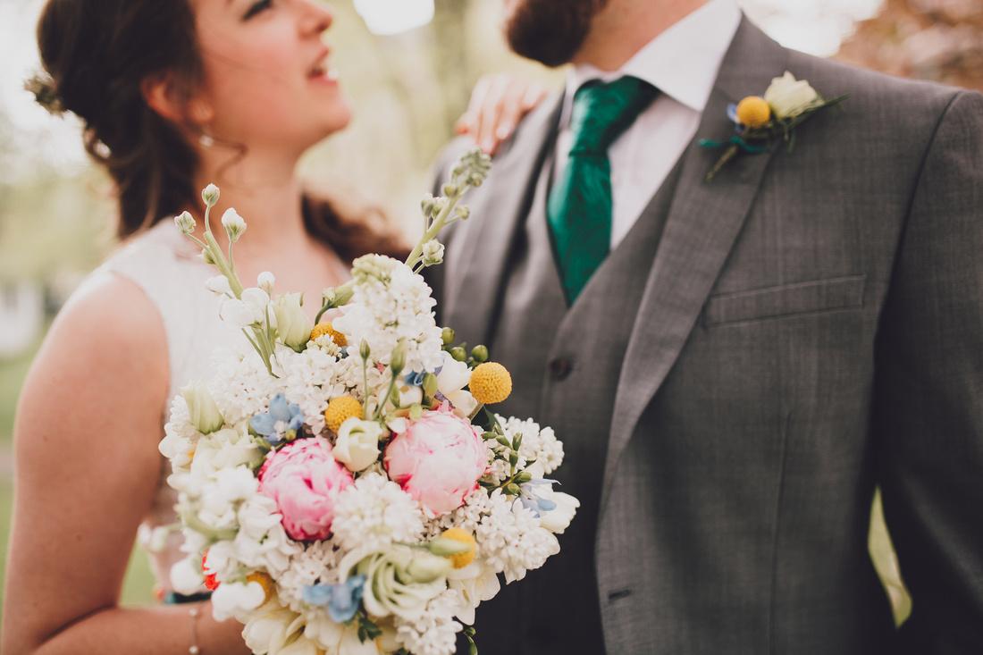 Cottiers Glasgow bride bouquet