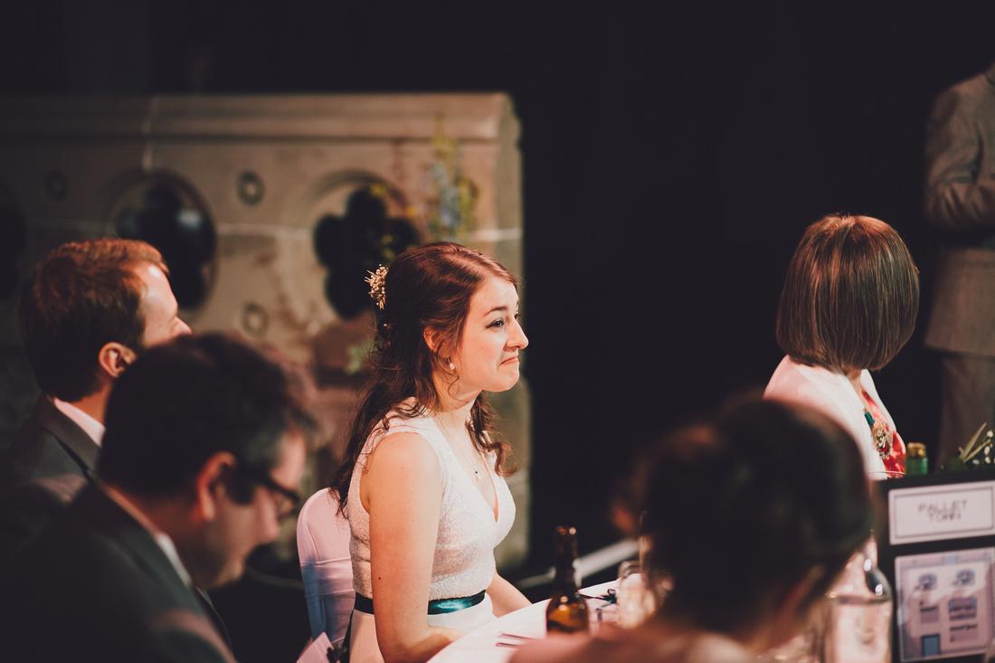 Cottiers Glasgow bride reception