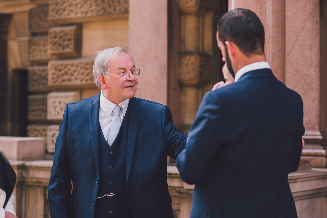 Father of the Bride Montrose Street Glasgow