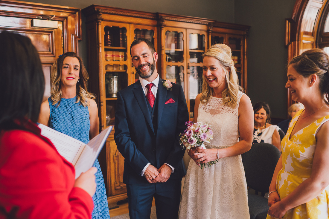 Wedding Ceremony Montrose Street Glasgow