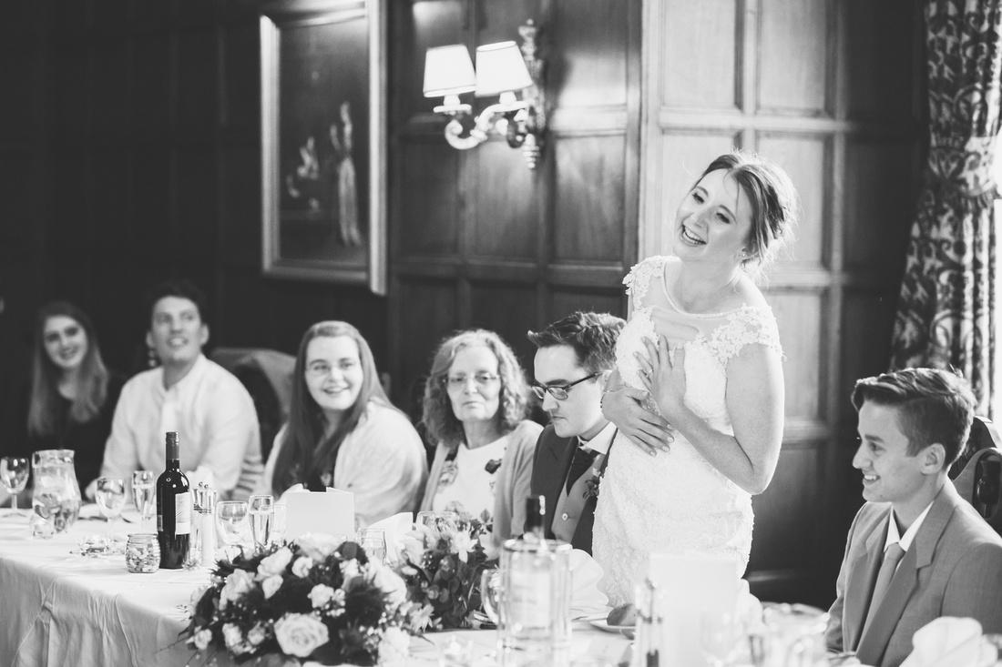 Bride speeches