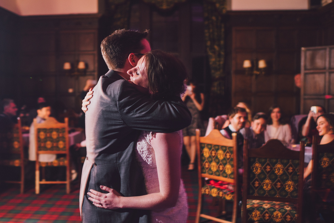 First dance cuddle