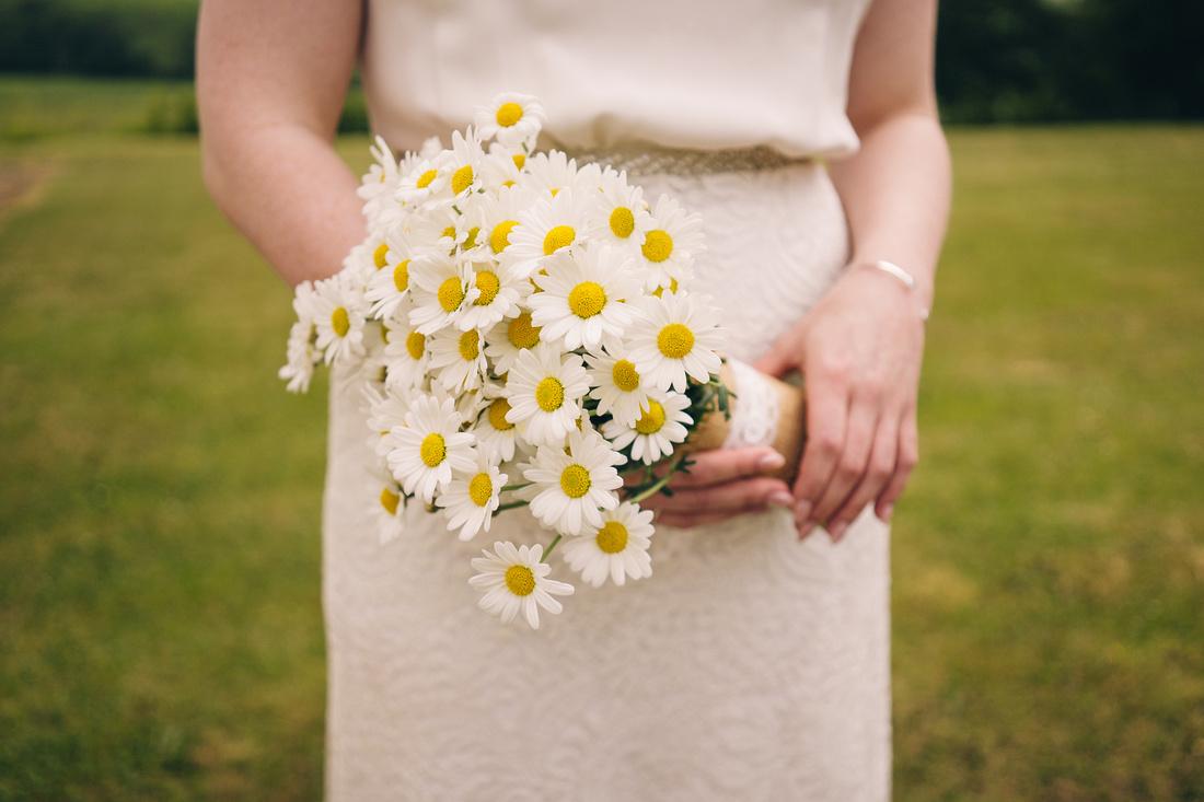 Bouquet flowers bride
