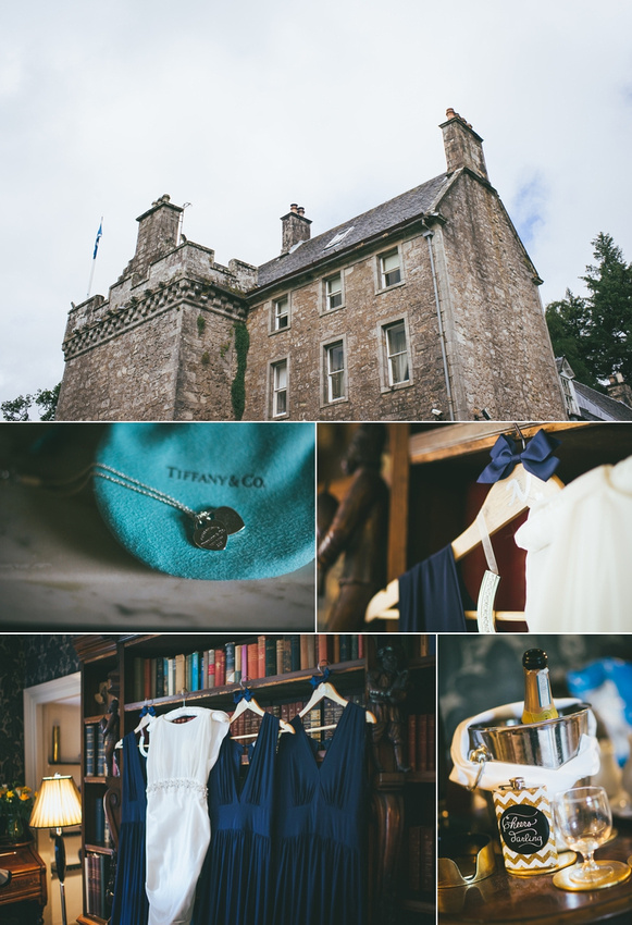 Culcreuch Castle Wedding Details