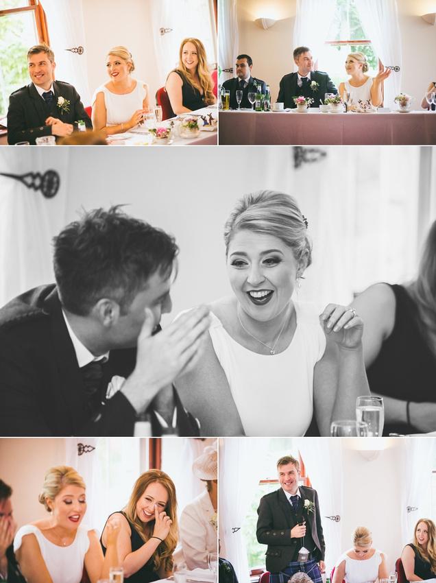 Culcreuch Castle Wedding Speeches