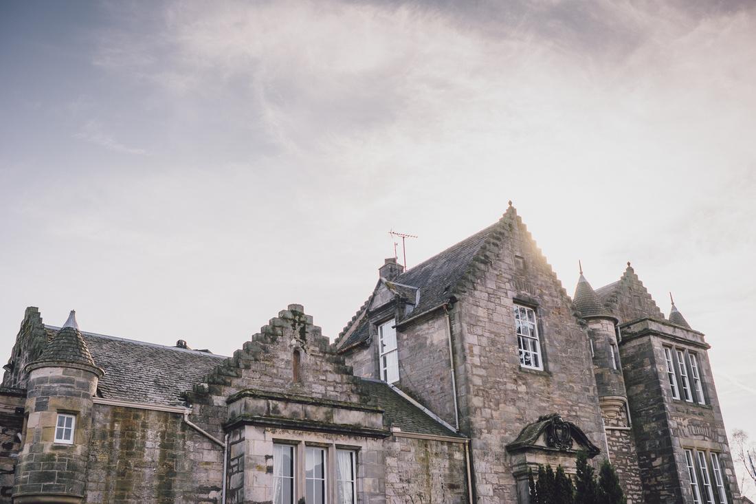 Kilconquhar Castle landscape building